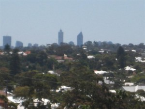 And Perth to the Northeast