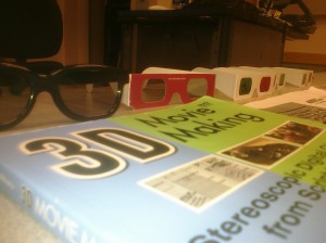 Close Up of 3D glasses